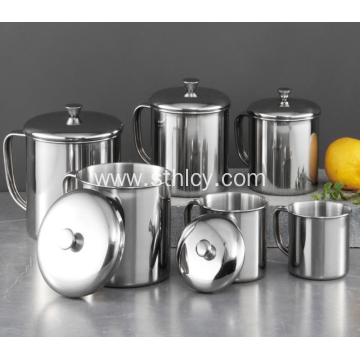 304 High Quality  Magnetic Stainless Steel Cup